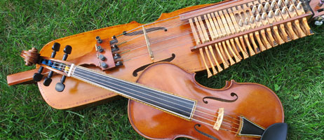 nyckelharpa & fiddle